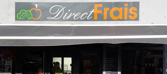 Boutique Direct Frais pour la page d'accueil