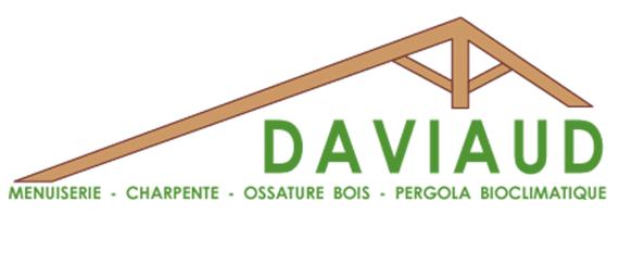 Logo de la menuiserie charpente Daviaud - Avril 2017