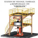 Rédaction technique sur notice d'une station de vidange Vidomatic