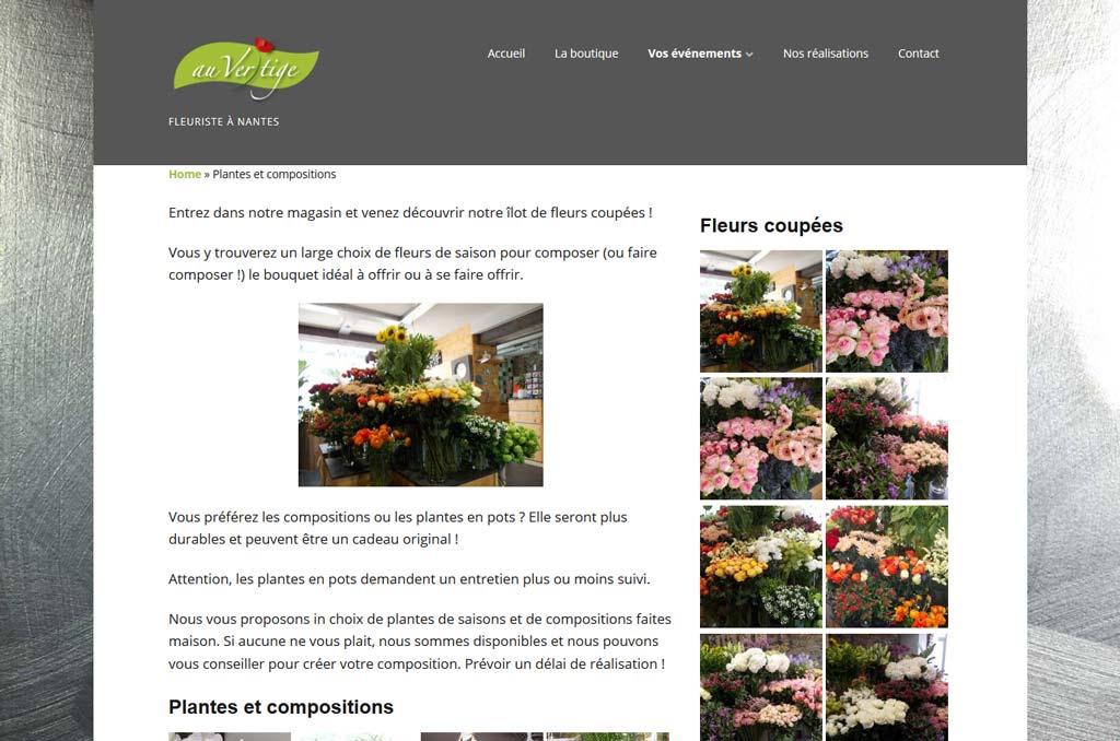 Fleuriste Au Vert'ige