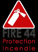 Nouveau logo Fire 44 - Format vertical