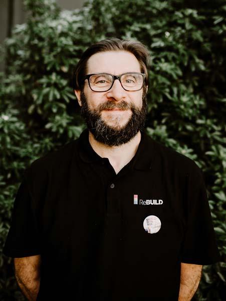 Portrait de Franck Pignon lors du ReBuild 2018